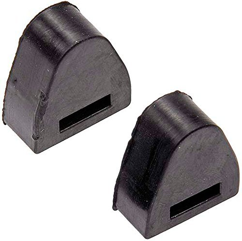APDTY 56780 Tailgate Rubber Bumper Stop Set For 1999-2007 Chevy Silverado Pickup / GMC Sierra Pickup (Includes 2 Tailgate Bumpers) (Replaces GM 16633065) by APDTY