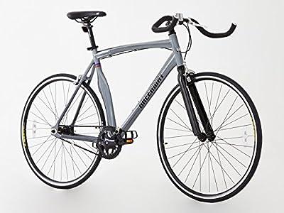 Aleación sola velocidad/Fixied Gear Bike, 2016modelo único, Hi Spec. Gris