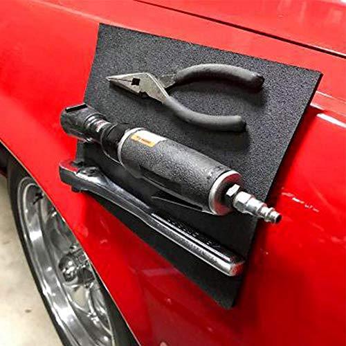 Preisvergleich Produktbild Aolvo Magnetische Werkzeugablage Halter Flexibles Magic Pad Auto Magic Pad Magnetische Werkzeugmatte Magnet Base Tool Pad Professional für Ihre Reparaturwerkzeuge, Schrauben, Nägel, Bolzen, Bohrer