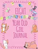 Best Gifts For An 8 Year Old Girls - Eight Year Old Girl Journal: Blank Wide Ruled Review