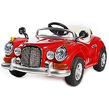 Rojo Vintage Roadster - 12V Eléctricos Niños Vehículos