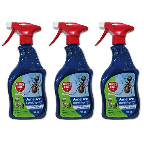 GARDOPIA Sparpaket: 3 x 500ml Protect Home Blattanex Ameisen Spezialspray (ehem. Bayer)...