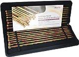 KnitPro 30 cm Symfonie Single Pointed Needle Set , Multi-Color