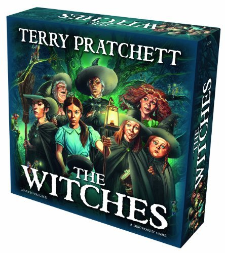 Terry Pratchett The Witches Board Game by Treefrog Games