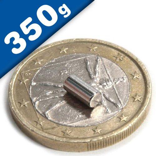 Supermagnete mit extremer Haftkraft SBS/® Neodym Magente 50 St/ück 6x2 mm