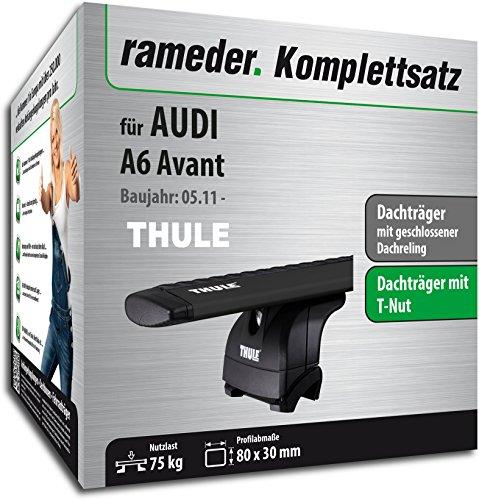 Rameder Komplettsatz, Dachträger WingBar für Audi A6 Avant (118199-09627-2)