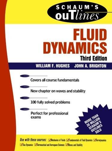 Schaum's Outline of Fluid Dynamics (Schaum's Outline Series) by William F. Hughes (1999-07-01)