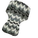 Gesslein Loop Sitzauflage Cellpur für Kinderwagen & Buggy S4, F4, F6, F10 ecru-grau-schwarz Muster