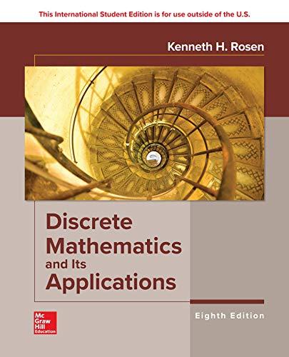 Discrete Mathematics and Its Applications por Kenneth Rosen