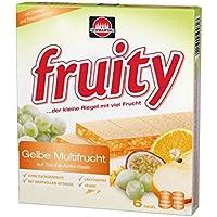 Schwartau fruity Gelbe Multifrucht, 8er Pack (8 x 144 g Schachtel)