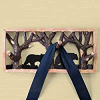 MVW The Decoration Craftsforest animal hooks & creative wall of door resin from behind the wall hooks towel racks Coat hooks hooksBest Poison (Color: 1001)