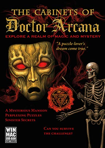 The Cabinets of Doctor Arcana (Spiel Haunted Halloween Escape)