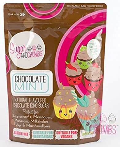 Sugar and Crumbs Chocolate Mint Natural Flavoured Chocolate Icing Sugar