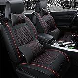 woyao13deng Spezielle Leder Auto Sitzbezüge Auto Sitzbezug Sitzbezüge Schonbezüge Schonbezug Universal PU Leder