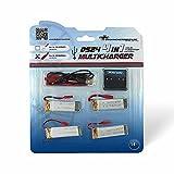 Gebraucht, DS24 4-fach USB-Ladegerät RCY 4 Akkus 500mAh für Brick gebraucht kaufen  Wird an jeden Ort in Deutschland