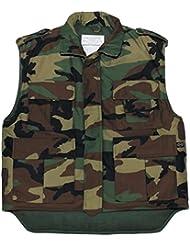 Ejército de los E.E.U.U. Chaleco acolchado woodland S- XXL - xx-large