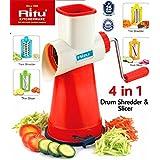 Ritu Drum Slicer And Shredder With 4 Drum Blades 4 In 1