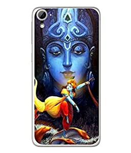 PrintVisa Designer Back Case Cover for HTC Desire 826 :: HTC Desire 826 Dual Sim (Krishna Fighting Snake In Sea)