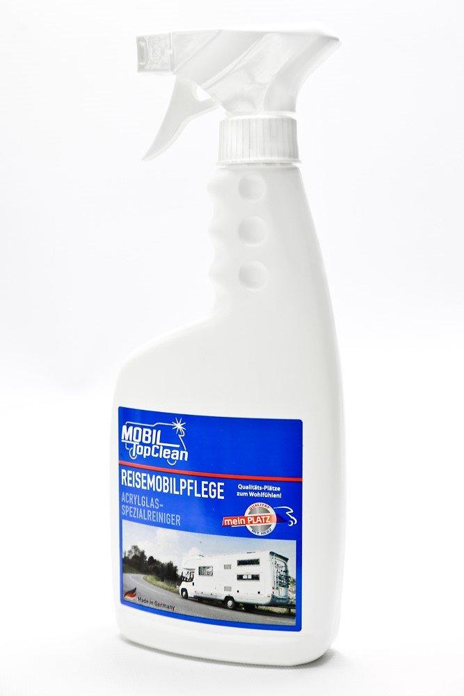 MobilTopClean Detergente per camper, detergente per vetri acrilici da 500ml (versione tedesca)