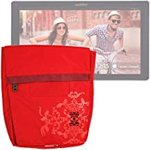DURAGADGET Bolso / Maletín ROJO Para Wolder Mitab Cleveland / THINK / SEATTLE 3G / NEW AGE / IN 101 / MINT / LIKE / EPSILON