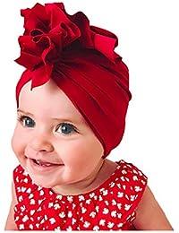 Boomly Unisex Tinta unita Morbida Cappello da Bambino Turbante Copricapo  Berretto di Cotone a5ccb80ee934