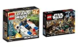 Lego Star Wars Set bestehend aus 75164 Rebel Trooper Battle Pack und 75160 U-Wing Microfighter