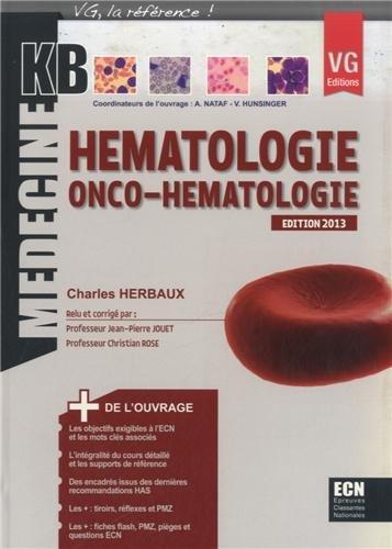 Hématologie onco-hématologie par Charles Herbaux