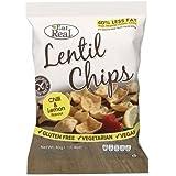 Eat Real Lentil Chips Lemon Chilli 40g (Pack of 12)