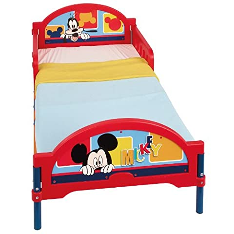 Worlds Apart 455MCK Mickey Mouse Cosytime Kinderbett, 147 x 75 cm, rot