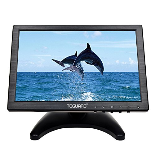 Monitor LCD 10.1 pollici con tecnologia touch screen e altoparlanti integrati.