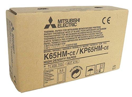 MITSUBISHI K65HM-CE/ KP65HM-CE Thermopapierrollen mit hoher Dichte für medizinische Schwarzweißdrucker - A6 (110mm x 20m)