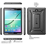 Galaxy Tab S2 9.7 Case, SUPCASE [Heavy Duty] Case for Samsung Galaxy Tab S2 9.7 Tablet [Unicorn Beetle PRO Series] Fullbody Rugged Hybrid Protective Cover w/ Builtin Screen Protector Bumper (Black/Black)
