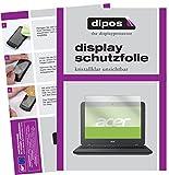 dipos I 2X Schutzfolie klar passend für Acer Chromebook 11 N7 Folie Bildschirmschutzfolie