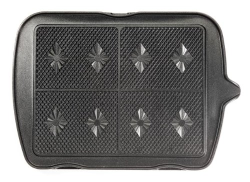 Lagrange 010222, Confezione piastre per gaufre/waffel per macchina per gaufre/waffel Premium