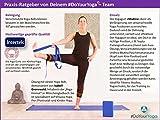 Yogagurt »Madira« / Yoga-Belt Gurt 100% Baumwolle mit stabilem Metall-Ring-Verschluss / 250 x 3,8cm / beige -