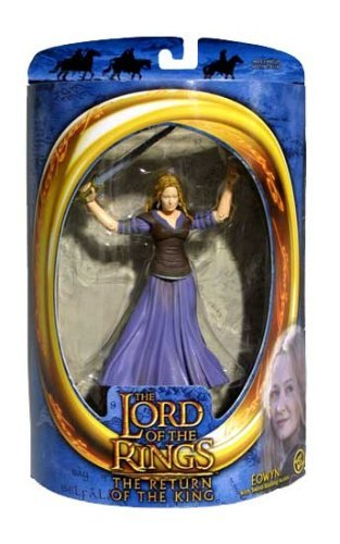 Preisvergleich Produktbild Lord of the Rings: The Two Towers: Collector Series 1 Eowyn With Sword Attack Action by Lord of the Rings