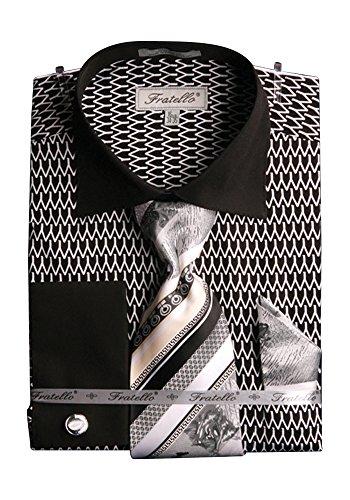 Sunrise Outlet -  Camicia da cerimonia  -  Vestito modellante  - Uomo Bianco