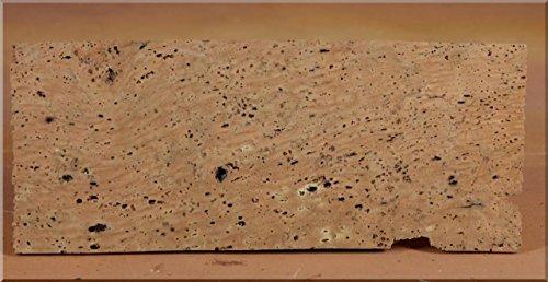 Tavolette sughero naturale 27x9x0,5cm set 2 pz. accessori presepe
