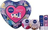 Nivea Luscious Lip Moments Gift Set for Women's - 4 Pieces