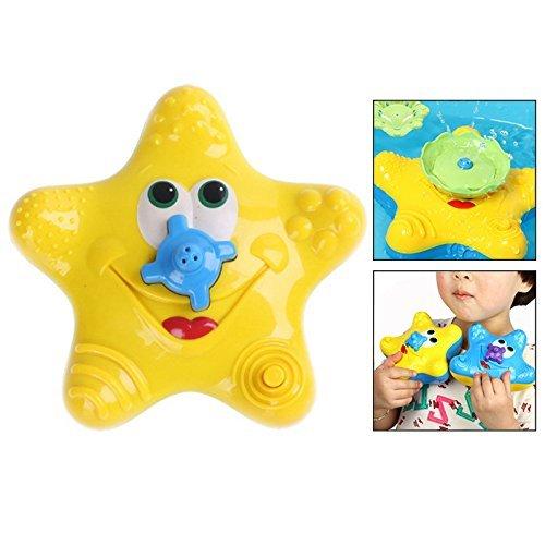 Itian Kinder Wasser Baby Starfish Schwimmen Spielzeug baden Spielzeug Sprinkler Starfish.