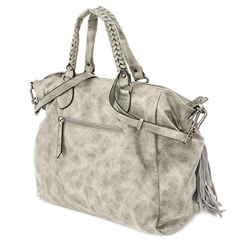 Suri Frey Franzy Borsa tote Shopper 38 cm 800 grey
