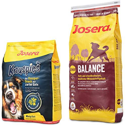 Josera 15 kg Balance + 900 g Knuspies