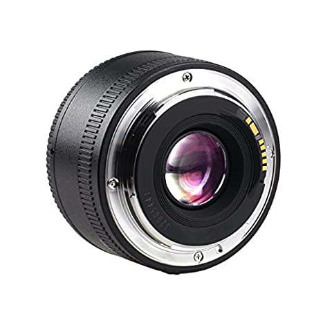 YONGNUO YN35mm F2 Festbrennweite Weitwinkel Objektiv mit EF Bajonett für Canon EOS 500D/600D/650D/700D/5D/5D Mark II/5D Mark III/5DS/5DS R/6D/7D/7D Mark II wirh Schutztasche
