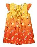 Beebay Pineapple Print Dress (D0715109801524_Multi-col_3-6M)