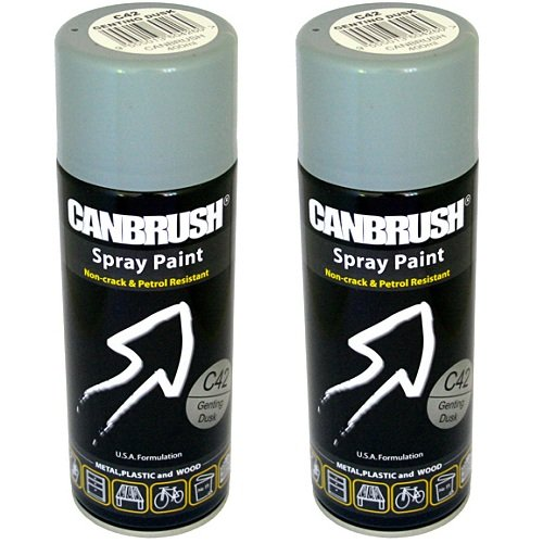 2-x-canbrush-spray-paint-for-metal-plastic-wood-400ml-gloss-finish-genting-dusk