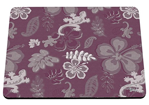 hippowarehouse Sommer Surf Print bedruckt Mauspad Zubehör Schwarz Gummi Boden 240mm x 190mm x 60mm, rose, (Party Sydney Supplies)