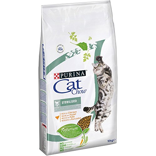 PURINA Gato Esterilizado seco Alimentación Cat Chow F.Media