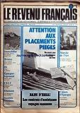 Telecharger Livres REVENU FRANCAIS LE No 117 du 01 07 1979 ATTENTION AUX PLACEMENTS PIEGES MARCHE DE L ART LES CONTRATS D ASSISTANCE VOYAGES VACANCES IMMOBILIER BOURSE OR EPARGNE LOGEMENT CELT DIAMANT SOCIETE FONCIERES (PDF,EPUB,MOBI) gratuits en Francaise