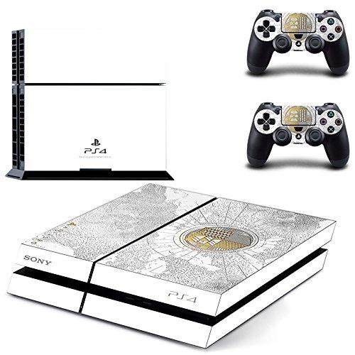 Lucky Store Skin / Aufkleber für Sony PS4 PlayStation 4 Konsole und 2 Controller, limitierte Auflage - Playstation Destiny Konsole 4