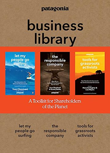 the-patagonia-business-library-including-let-my-people-go-surfing-the-responsible-company-and-patago